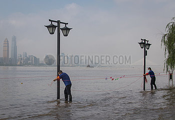 CHINA-HUBEI-WUHAN-YANGTZE RIVER-FLOOD (CN)