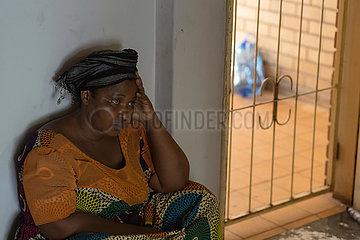 Pretoria  Suedafrika - Fluechtlingshilfe  Asylbewerber