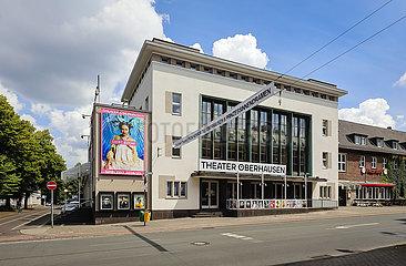 Theater Oberhausen  Oberhausen  Ruhrgebiet  Nordrhein-Westfalen  Deutschland