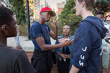 Johannesburg  Suedafrika - Outreach Foundation  Hillbrow