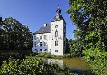 Wasserschloss Haus Voerde  Voerde  Nordrhein-Westfalen  Deutschland