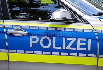 Polizei  Oberhausen  Ruhrgebiet  Nordrhein-Westfalen  Deutschland