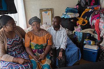 Pretoria  Suedafrika - Pastorin Rosalie Madika  Fluechtlingshilfe