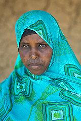 Hobyo Kebele  Somali Region  Aethiopien - Frauenportraet