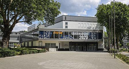Luise Albertz Halle  congress centrum  Oberhausen  Ruhrgebiet  Nordrhein-Westfalen  Deutschland