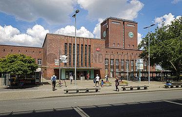 Hauptbahnhof Oberhausen  Oberhausen  Ruhrgebiet  Nordrhein-Westfalen  Deutschland