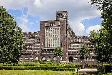 Rathaus  Oberhausen  Ruhrgebiet  Nordrhein-Westfalen  Deutschland