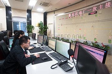 CHINA-ZHEJIANG-XIN'AN RIVER RESERVOIR-WATER DISCHARGE (CN)