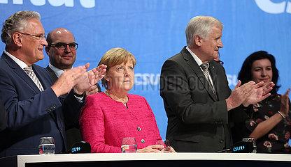 CSU Wahlkampftermin