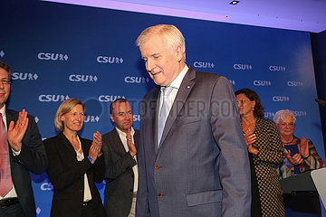CSU Wahlparty