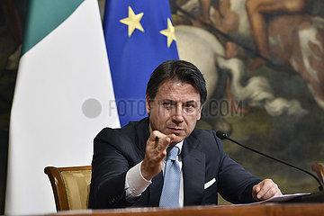ITALIEN-ROM-PM-KONJUNKTUR-CORONAVIRUS EMERGENCY ITALY-ROM-PM-KONJUNKTUR-CORONAVIRUS EMERGENCY