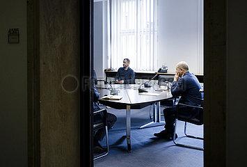 BM Scholz bei Videokonferenz mit EU-Mitgliedstaaten