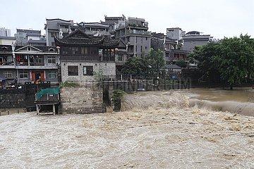 #CHINA-HUNAN-XIANGXI-HEAVY RAIN (CN)