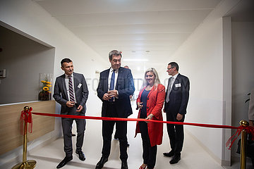 Markus Soeder and Melanie Huml inaugurate the expansion of the hospital in Bamberg