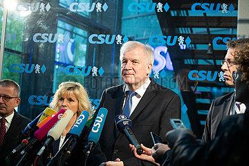 Horst Seehofer droht mit Rücktritt