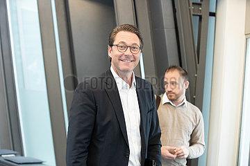 CSU Board Meeting with Andreas Scheuer  Manfred Weber & Markus Soeder