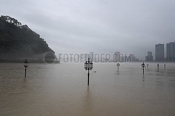 CHINA-ZHEJIANG-FLOOD entladungs ??EVACUATION (CN)