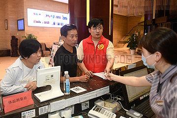 CHINA-ZHEJIANG-FLOOD DISCHARGE-EVACUATION (CN)