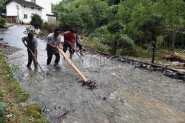 CHINA-ANHUI-HUANGSHAN-FLOOD-RESPONSE (CN)