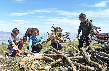 CHINA-XINJIANG-TEKES-SUMMER WIESE (CN)