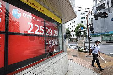 JAPAN-TOKYO-STOCKS