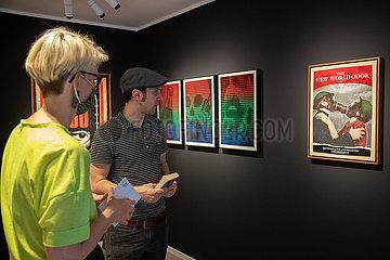 Free Radicals Ausstellung in München