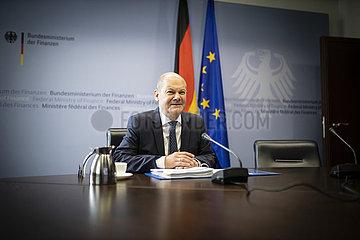 VIKO zum ECOFIN Rat mit Bundesfinanzminister Olaf Scholz