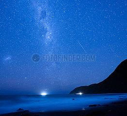 NEW ZEALAND-WELLINGTON-MILKY WAY