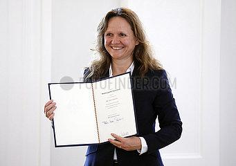 Richterwechsel am Bundesverfassungsgericht  Entlassung und Ernennung  Schloss Bellevue