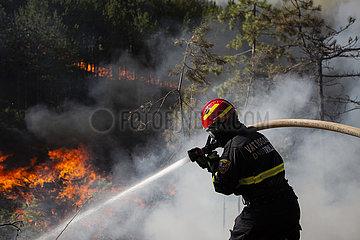 CROATIA-RAMLJANI-FOREST FIRE