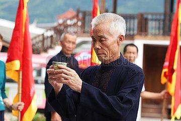 (FujianPano) CHINA-FUJIAN-PUYUAN-HISTORICAL VILLAGE-CARP TOURISM (CN)
