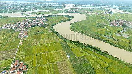 CHINA-HUNAN-Rice-konvektive Wetter (CN)