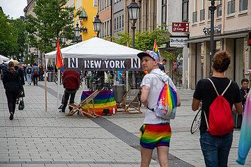 Christopher Street Day ( Pride ) in München
