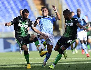 (SP) ITALY-ROME-FOOTBALL-SERIE A-LAZIO VS SASSUOLO