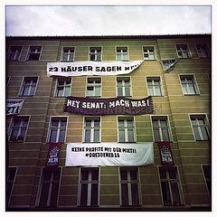 Mieterprotest Kreuzberg