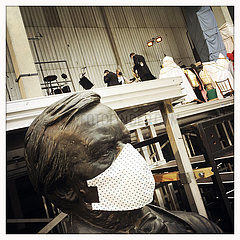 Richard Wagner Face Mask