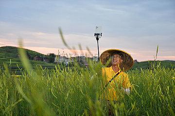 CHINA-HUNAN-QIDONG-Taglilie-Landwirtschaft (CN)