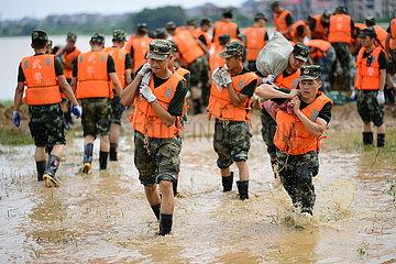 CHINA-JIANGXI-POYANG-FLOOD-FLOOD CONTROL (CN)