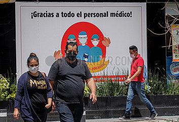 MEXIKO-MEXICO CITY-COVID-19-FÄLLE