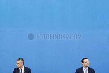 Jens Spahn und Lothar H. Wieler