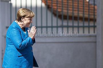 Bundeskanzlerin Merkel trifft Giuseppe Conte