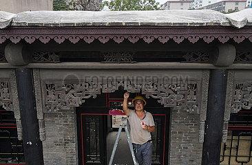 CHINA-HEBEI-XINGTAI-alte Haus-Renovierung (CN)
