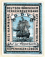 Deutsch-daenischer Verkehrsverband  Werbung  1912