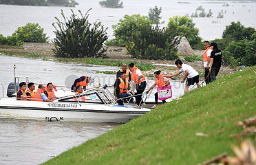 CHINA-ANHUI-Susong-flut Rescue (CN)