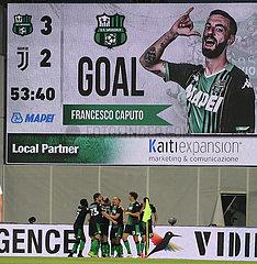 (SP) ITALY-Reggio Emilia-FOOTBALL-SERIE A-SASSUOLO VS JUVENTUS