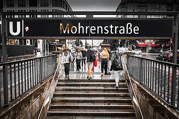 U-Bahn Mohrenstraße