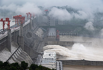 # CHINA-HUBEI-JANGTSE-Überflutungsdrei GORGES (CN) # CHINA-HUBEI-JANGTSE-Überflutungsdrei GORGES (CN)