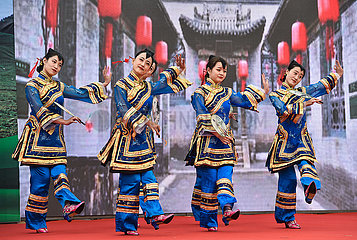 CHINA-SHANXI-TAIYUAN-LEISTUNGSPROFIL-ENTERTAINMENT (CN) CHINA-SHANXI-TAIYUAN-LEISTUNGSPROFIL-ENTERTAINMENT (CN)