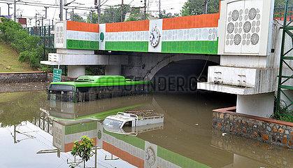 INDIEN-NEW DELHI-Vernässung INDIA-NEW DELHI-Vernässung