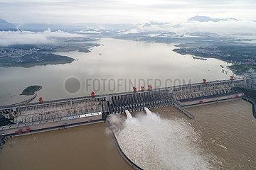# CHINA-HUBEI-JANGTSE-Überflutungsdrei GORGES (CN)